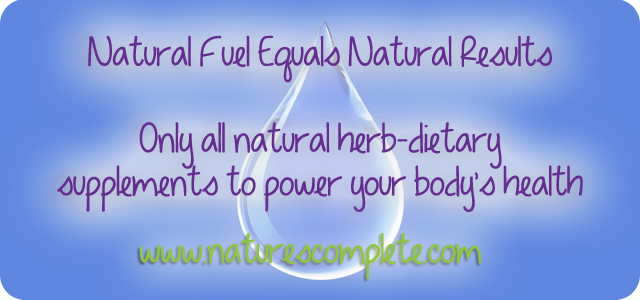Natural Fuel Equals Natural Results